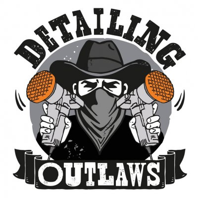 Detailing Outlaws Sticker - 13,5x12cm