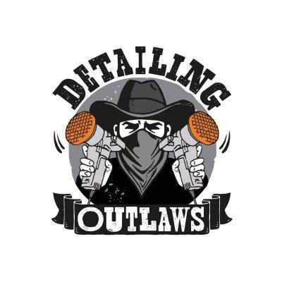 Detailing Outlaws Sticker - 8x7cm