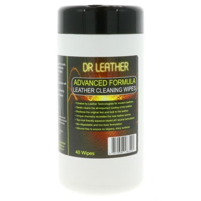 Advanced Formula Leather Cleaning Wipes - 40 stuks