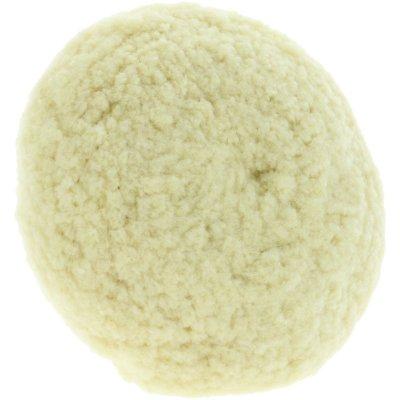 Cupped Twisted 100% Merino Wool Cutting Rotary Pad - 150mm (steunplaat 125mm)