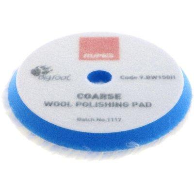 Blue Coarse Wool Polishing Pad - 130/145mm